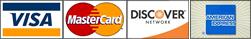 We Accept Credit & Debit Cards